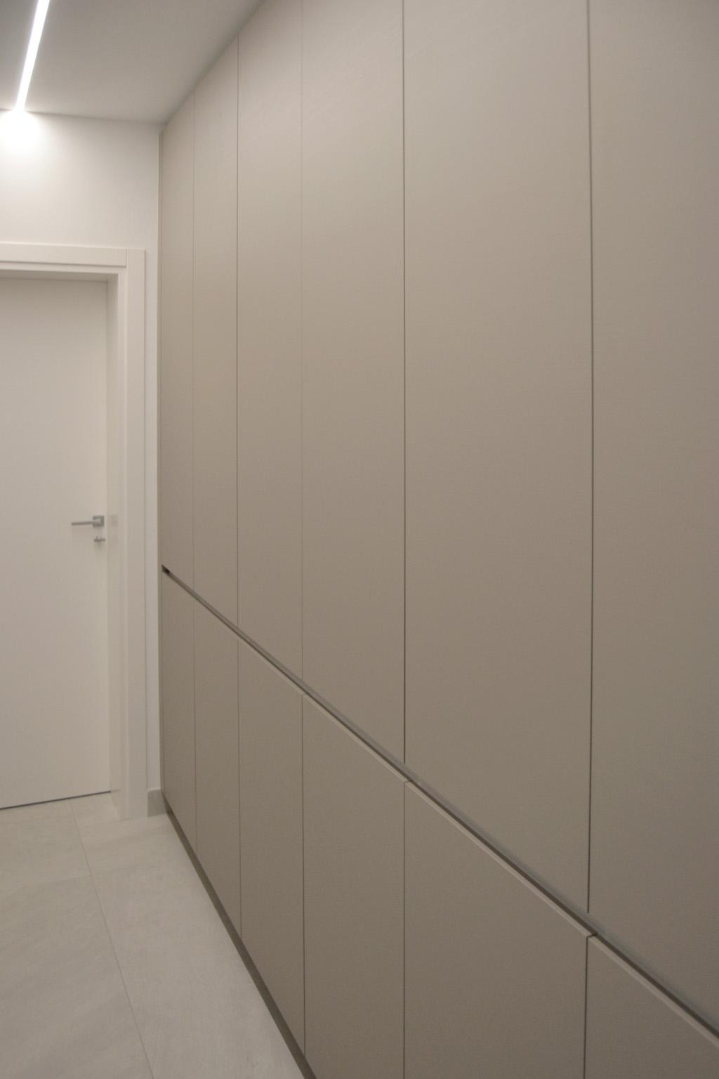 Armadio A Muro Interno armadio a parete – b studio interni